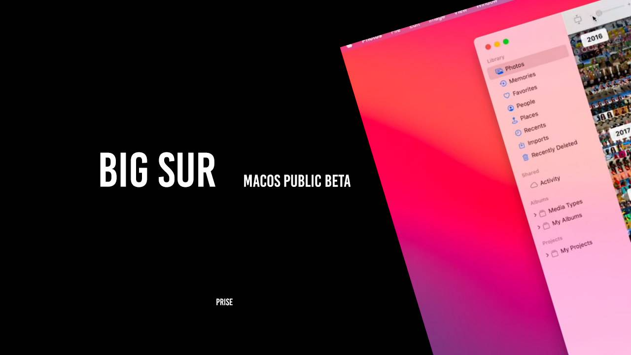 Apple macOS Big Sur public beta released with new controls and rounder icons