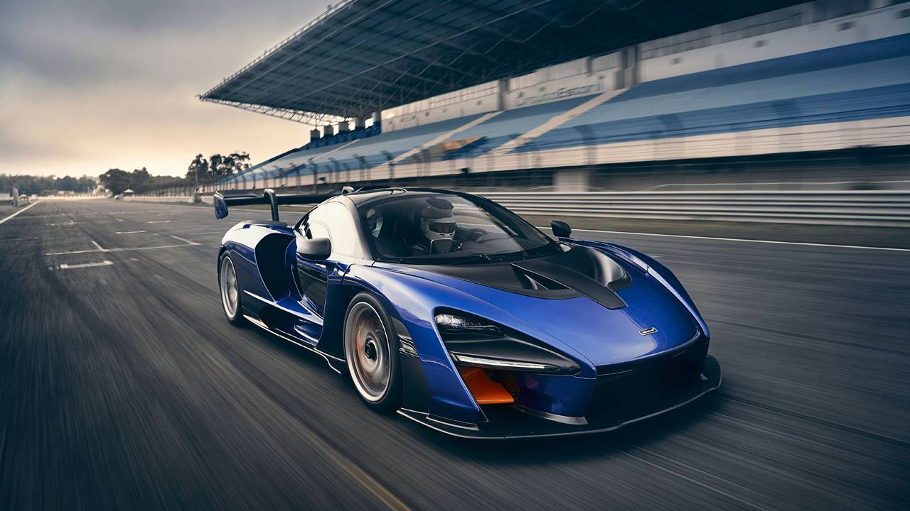 McLaren Senna crushes four racetrack records around the US