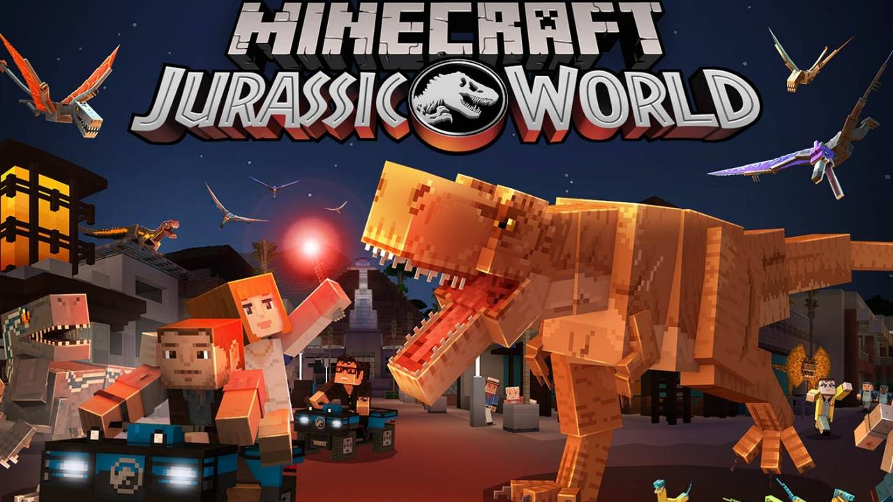 Minecraft Jurassic World DLC tests your skills as a park manager