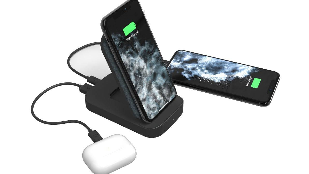 Mophie 2020 Powerstation batteries include Qi desk stand for your phone