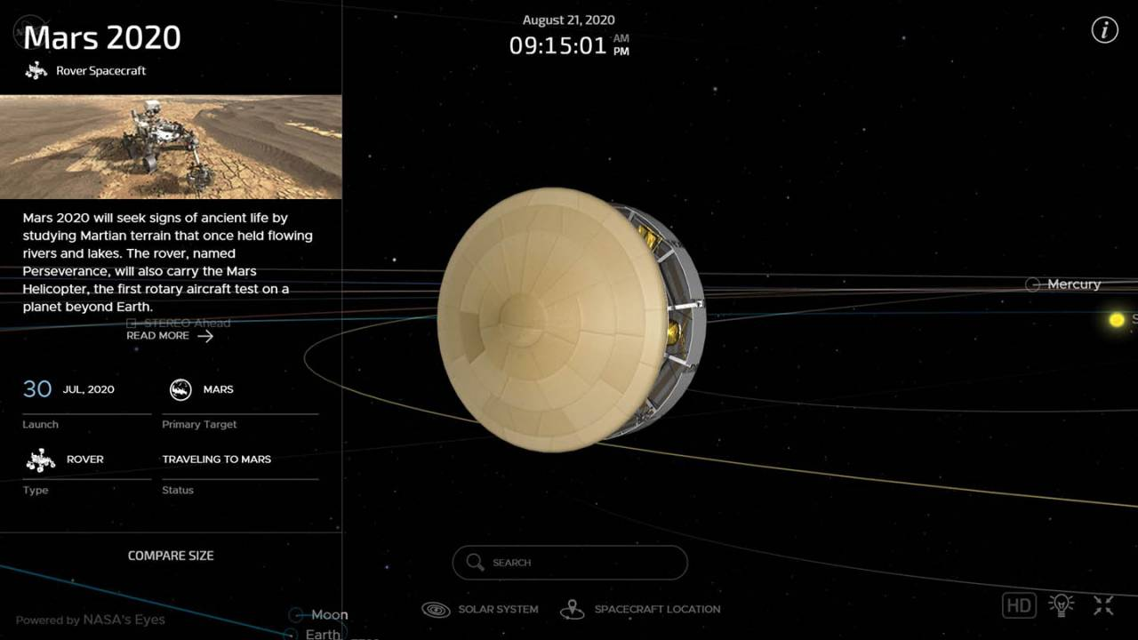 NASA's new tool lets anyone watch Perseverance rover's journey in real-time