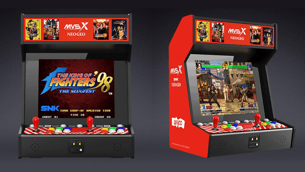 SNK NEOGEO MVSX recreates the arcade experience in full size