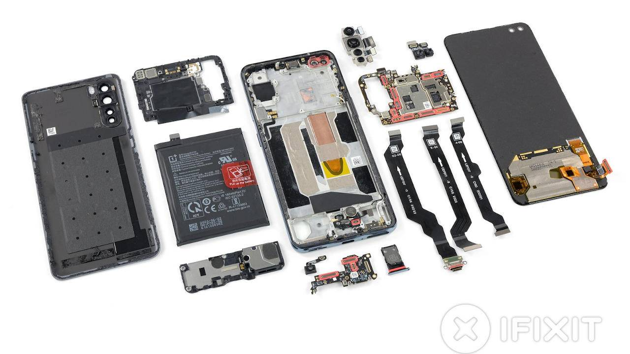 OnePlus Nord iFixit teardown has no surprises and that's a good thing