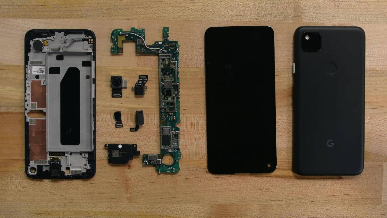 Pixel 4a iFixit teardown reveals a trap-laden puzzle