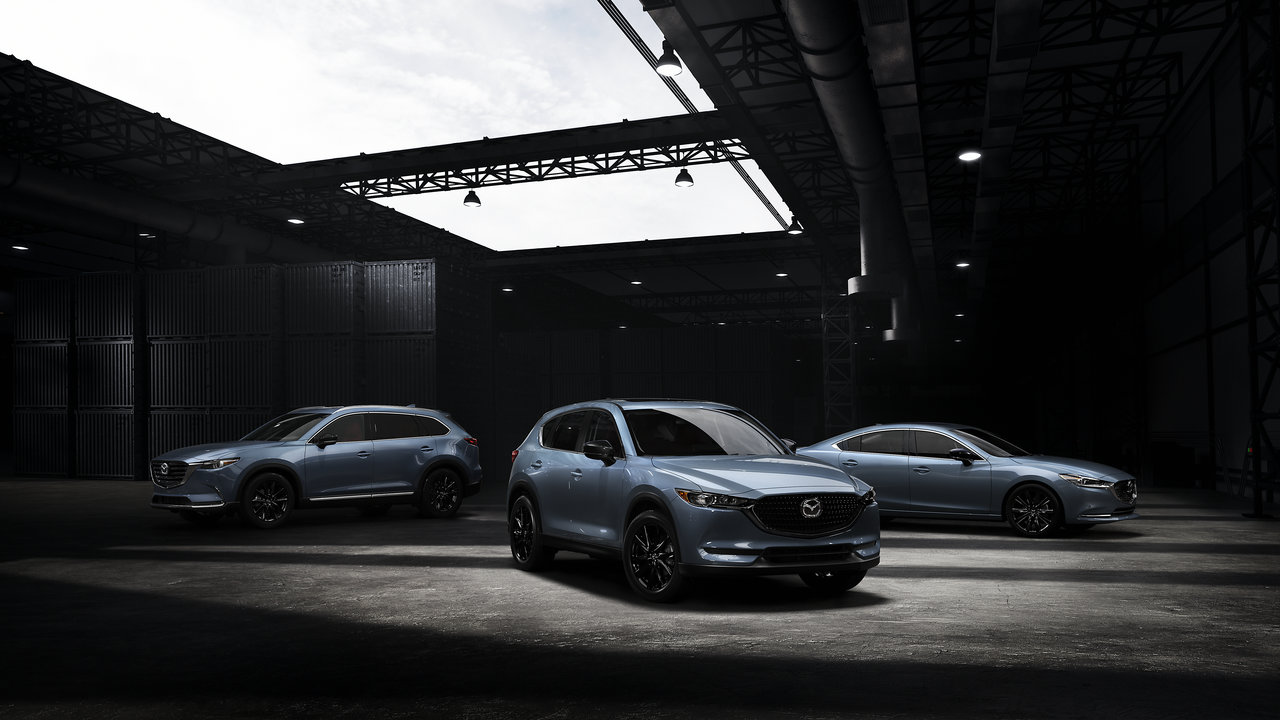 2021 Mazda CX-5, CX-9, and 6 sedan receives Carbon Edition trim package
