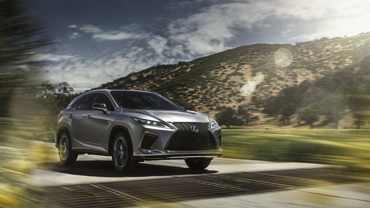 2021 Lexus RX: More standard features and new Black Line Edition