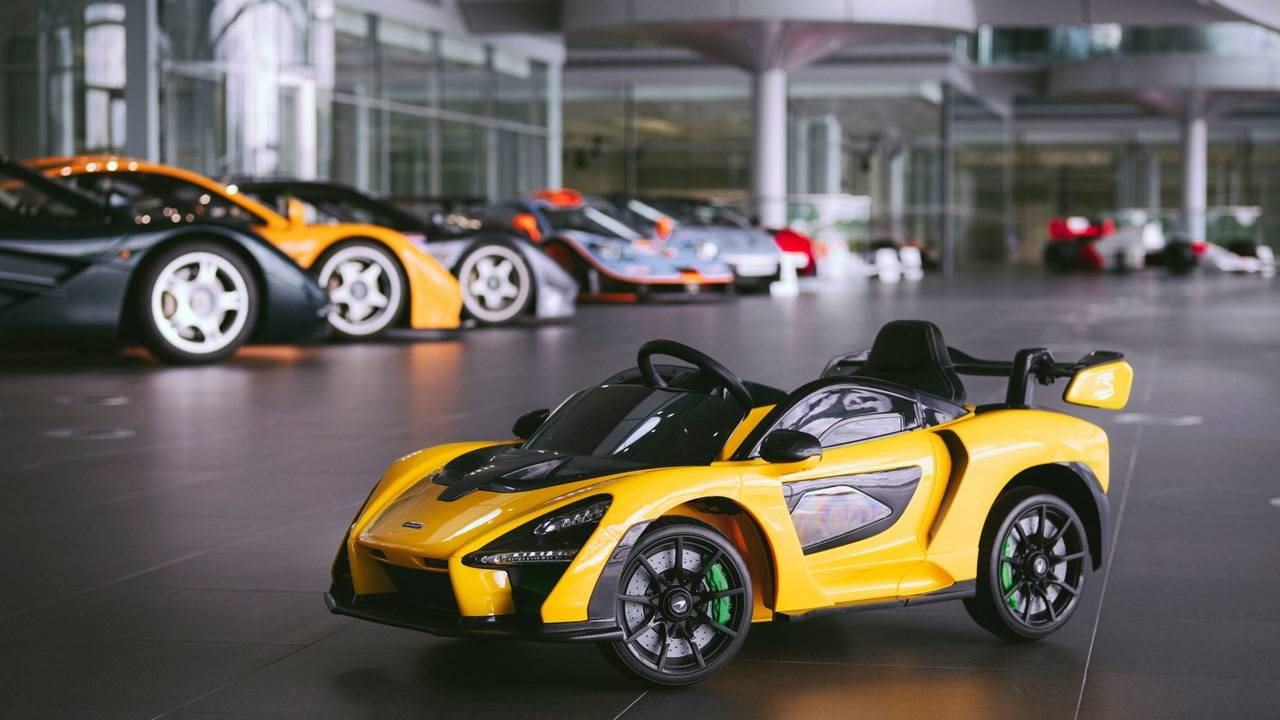This McLaren Senna Ride-On is an awesome electric toy