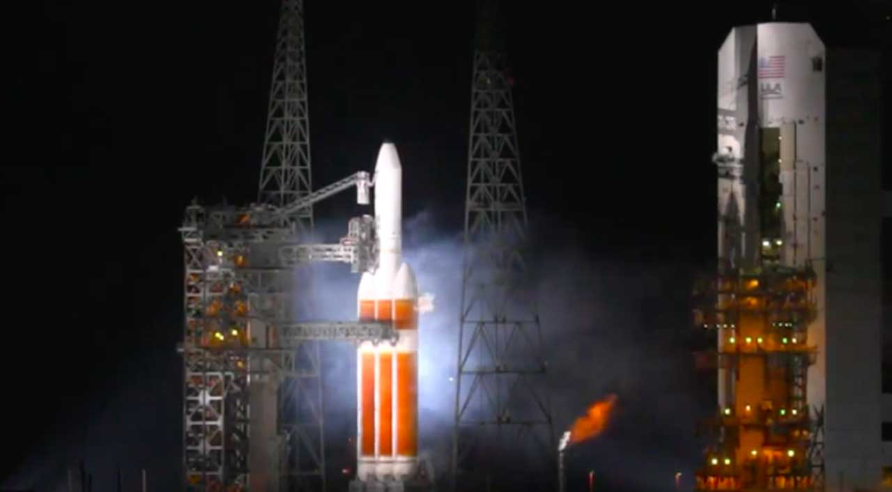 ULA Delta 4 Heavy rocket launch aborted seconds before liftoff