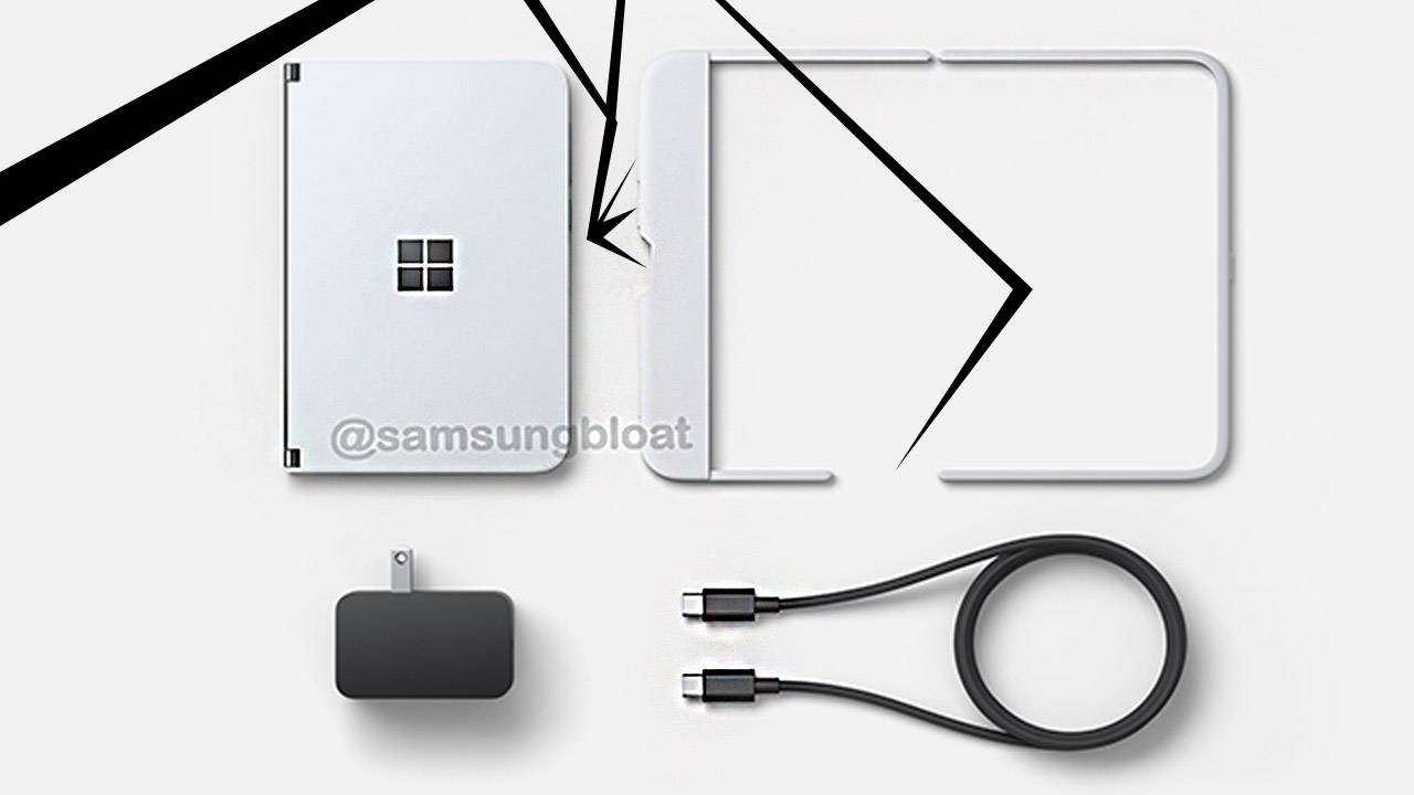Microsoft Surface Duo images show potential launch packages and price