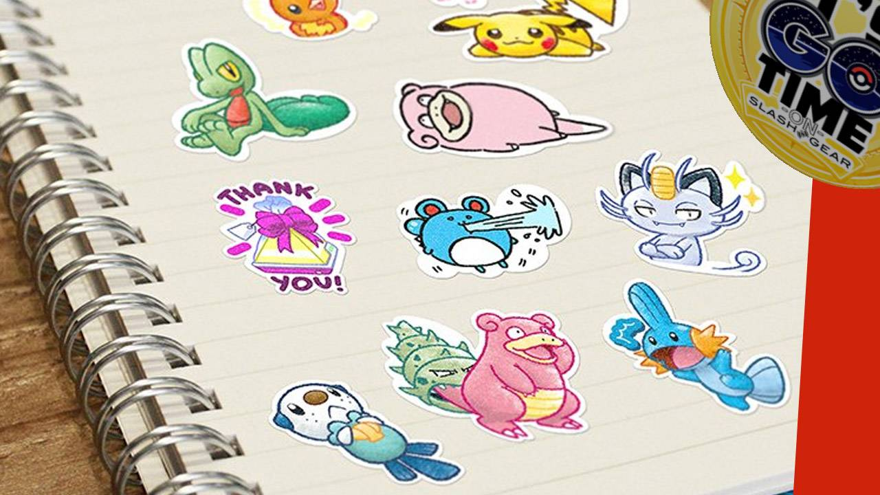 Pokemon GO Stickers, and why you want them