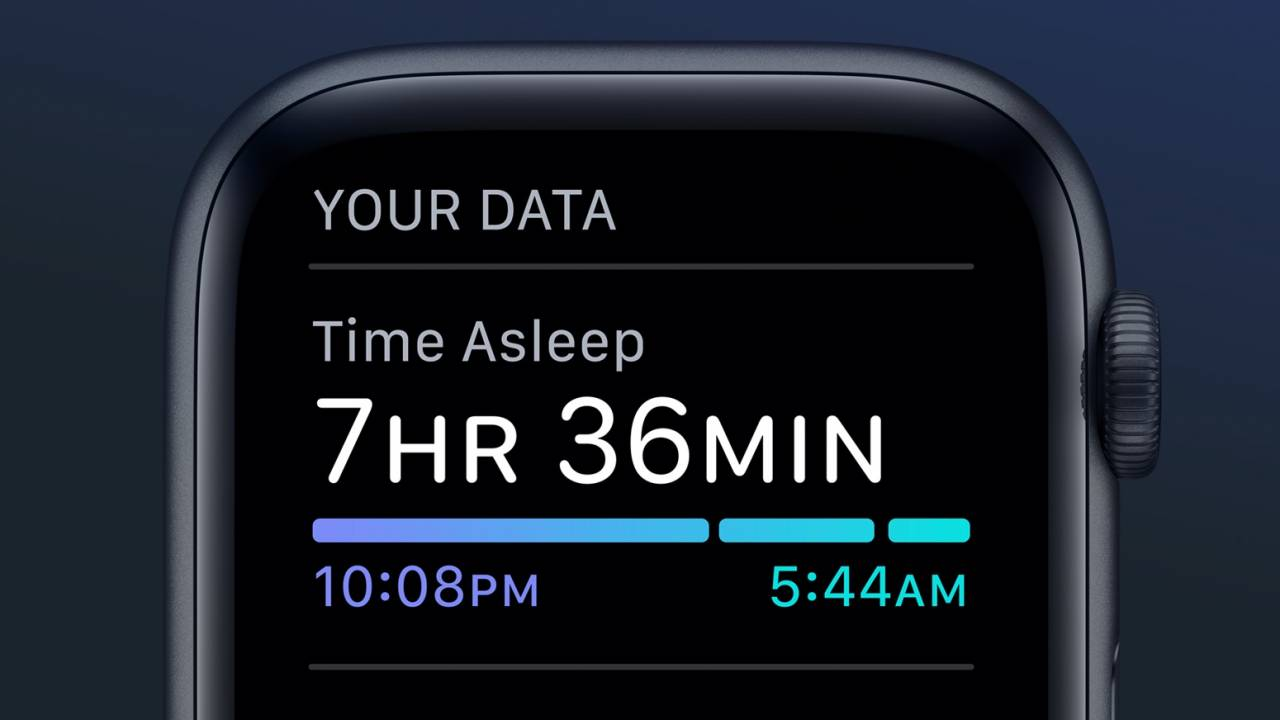 Your Apple Watch now tracks sleep with the first watchOS 7 public beta