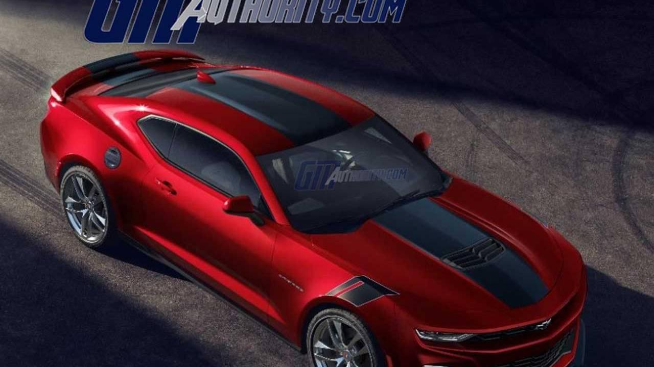 2021 Chevrolet Camaro Wild Cherry Package leaks