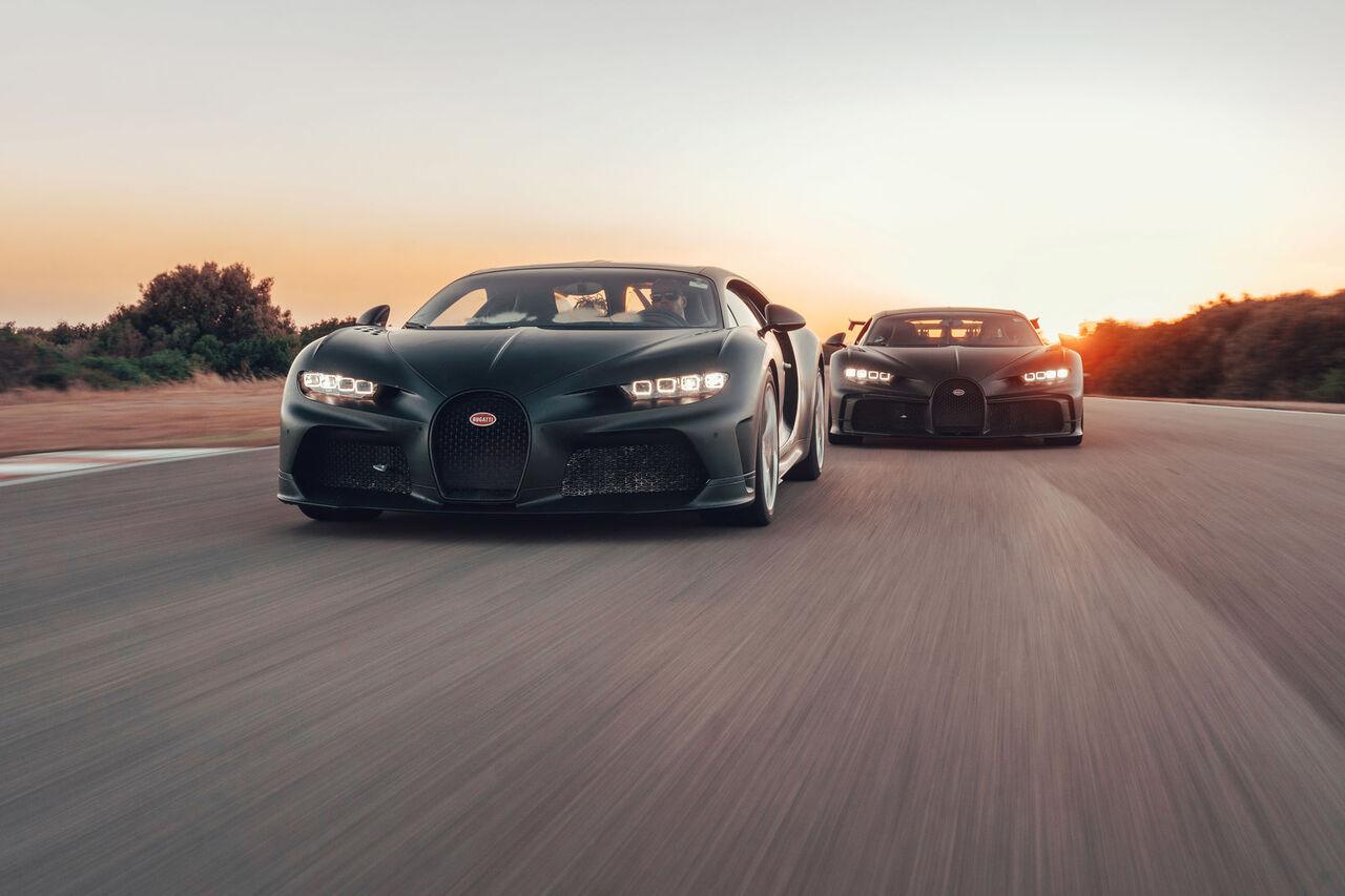 Watch The Bugatti Chiron Super Sport 300 And Chiron Pur Sport At Nardo Technical Center Slashgear