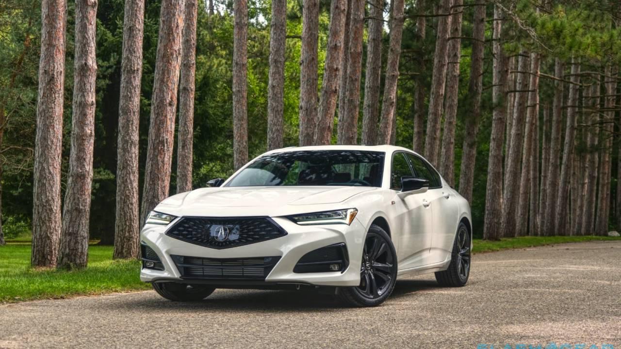 2021 Acura Tlx First Drive Focus Matters Slashgear