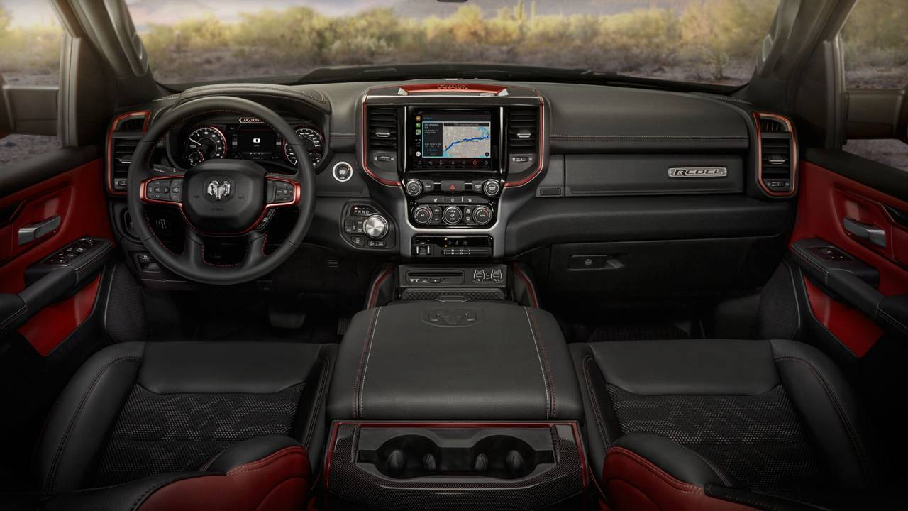 2021 Ram 1500 pickup offers a range of options