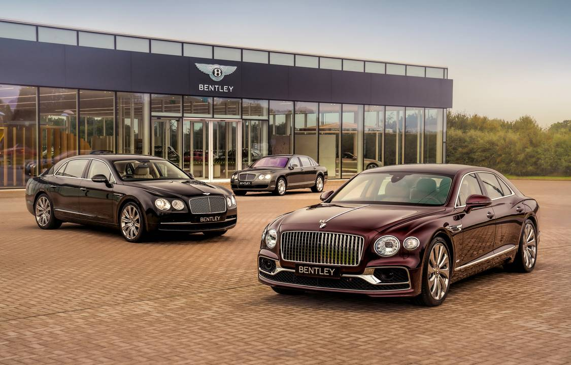 The 40,000th Bentley Flying Spur just rolled off the assembly line