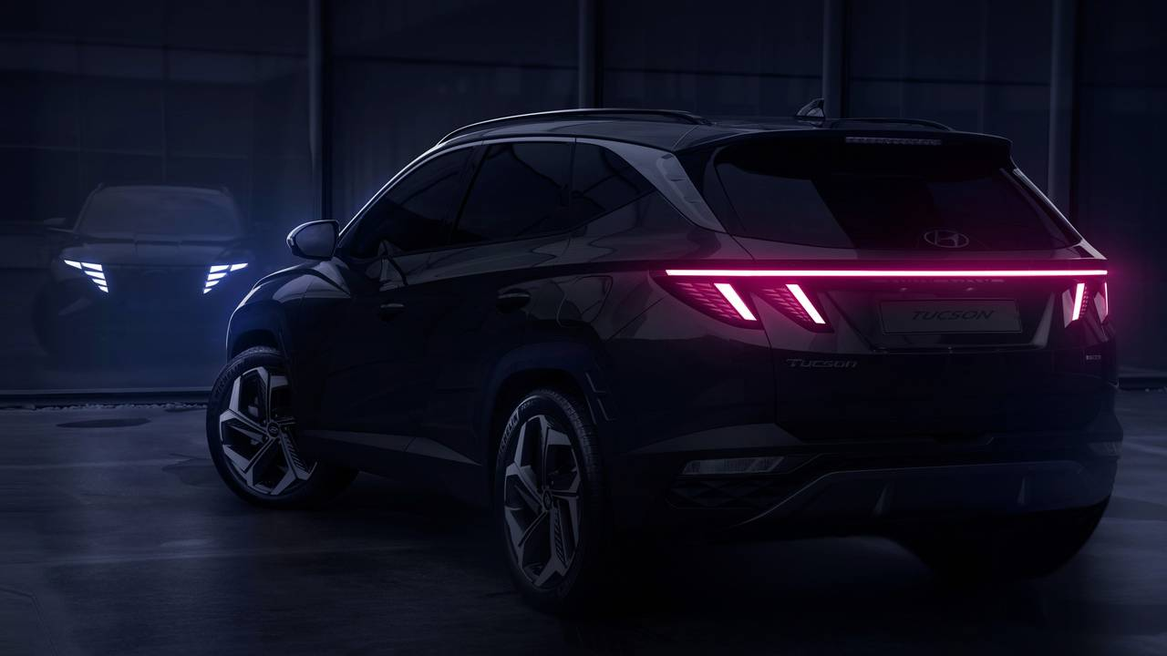 2022 Hyundai Tucson appears with concept car styling cues