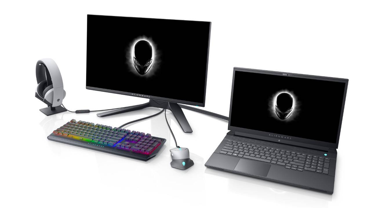 Alienware teases Aurora desktops with RTX 30-series GPUs, gaming monitors and laptops