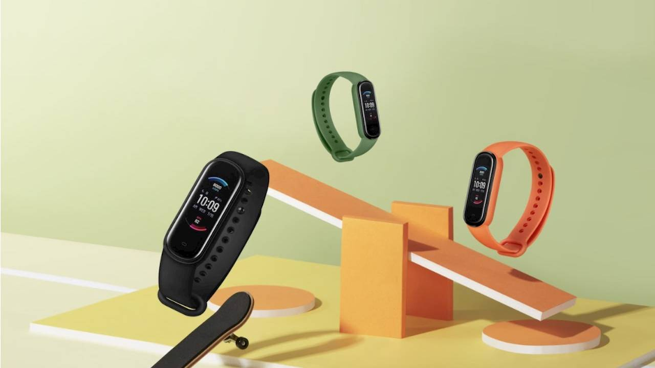 Amazfit Band 5 with Alexa packs key health monitoring feature