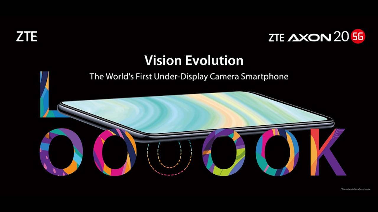 ZTE Axon 20 5G under-display camera trick revealed in macro shot