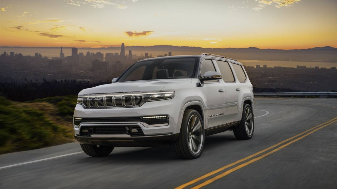 Jeep Grand Wagoneer Concept Gallery