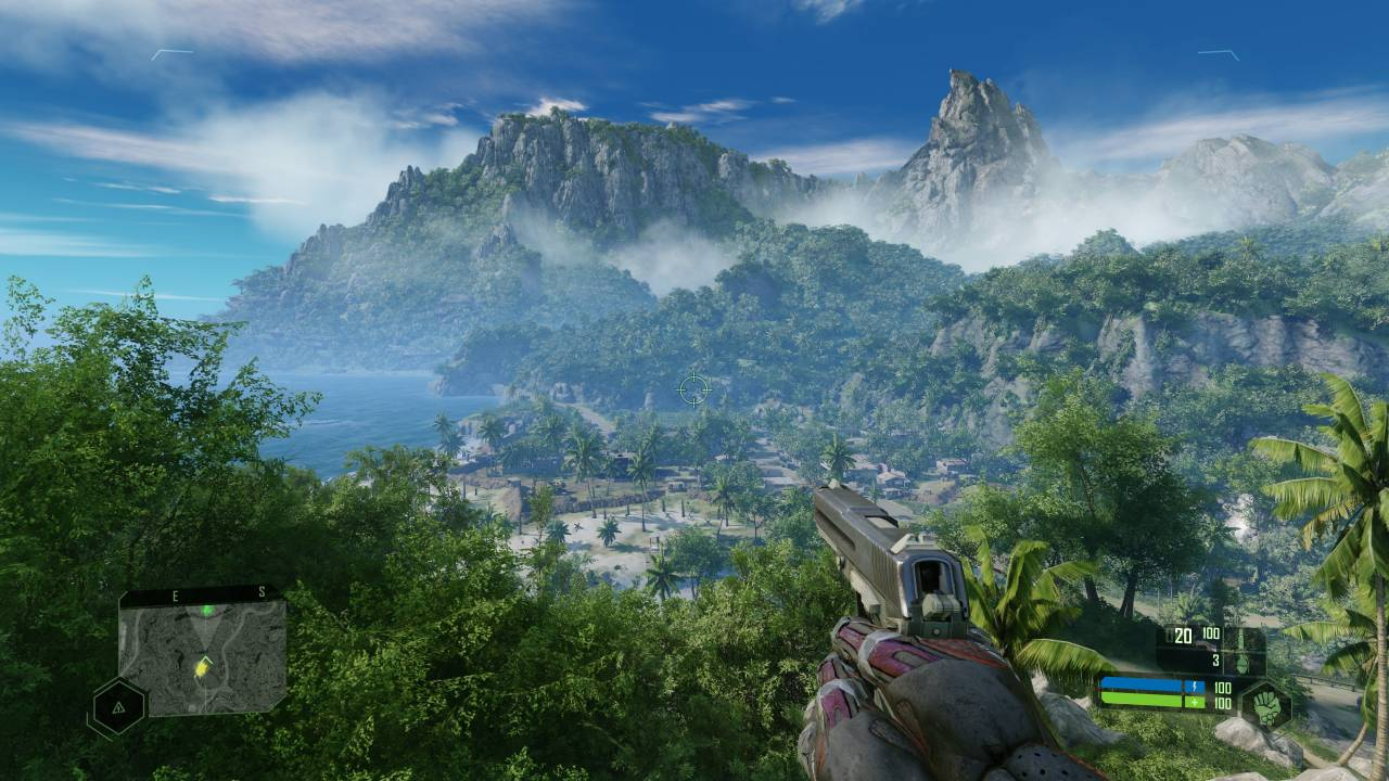 Crysis remastered: Does it look like Fortnite?