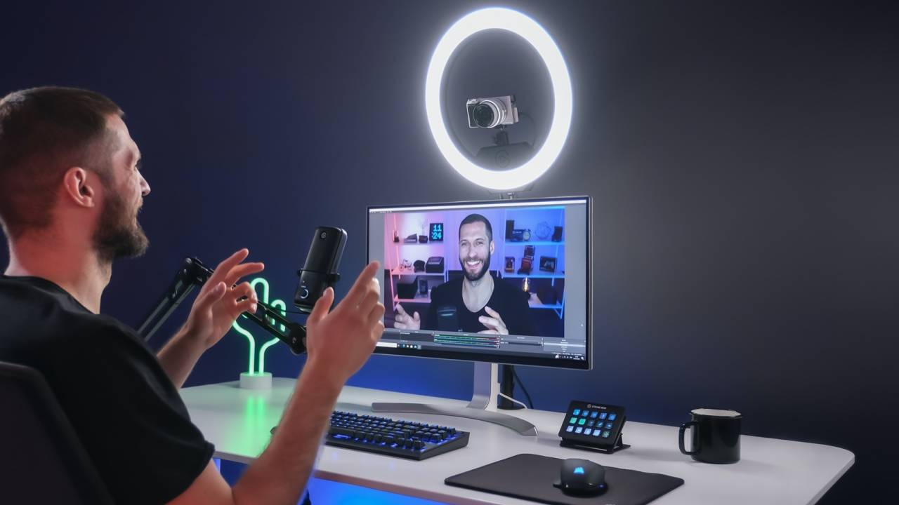 Elgato Ring Light adds WiFi to a WFH essential