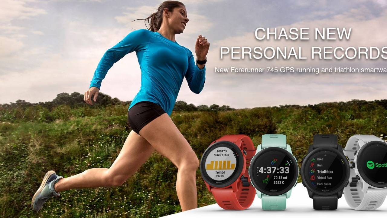 Garmin Forerunner 745 released with over-the-top tracking abilities