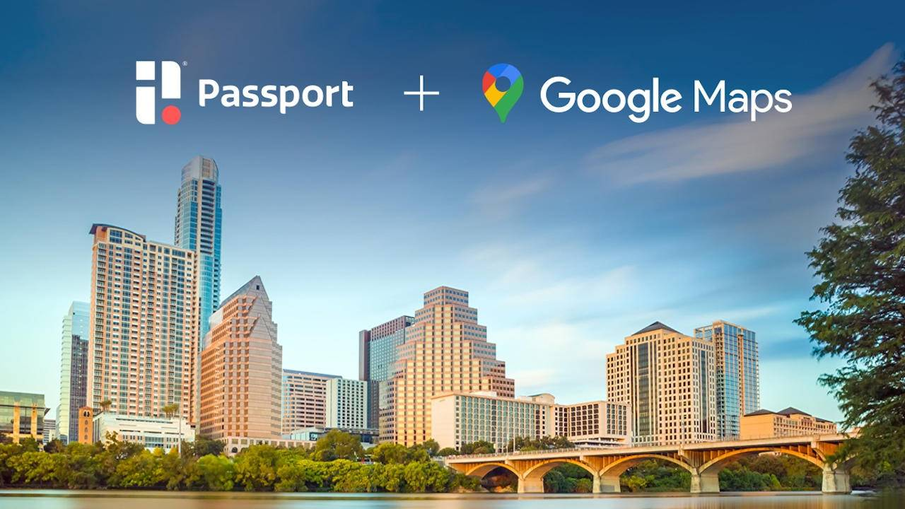 Google Maps and Passport lets you pay for parking in Austin
