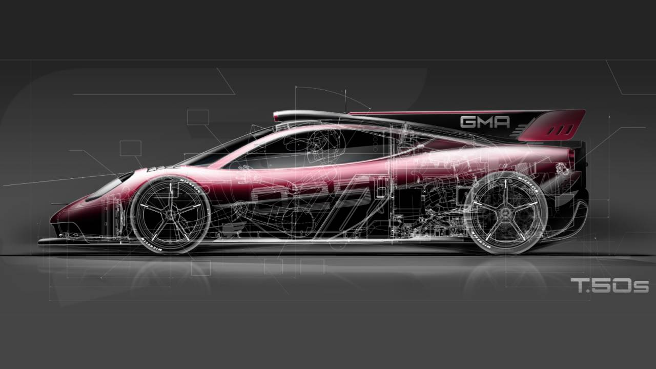 "The GMA T.50 hypercar now has an even more ""astonishing"" version"