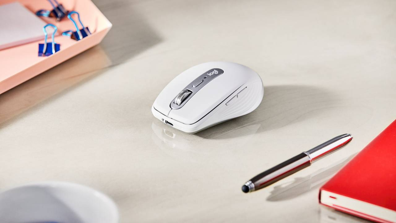 Logitech MX Anywhere 3 mouse puts MagSpeed scroll wheel in a smaller package