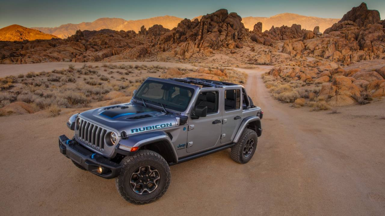 2021 Jeep Wrangler 4xe Gallery
