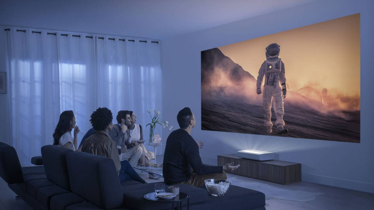 Samsung unveils The Premiere, a 4K ultra short throw laser projector
