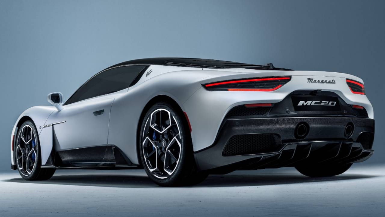 The Maserati MC20 gives Android Automotive OS its fastest ride yet