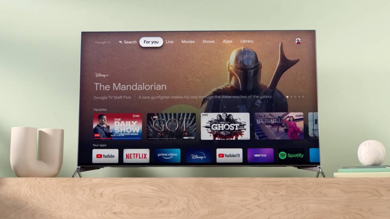 Google TV is the new, cleaner Android TV