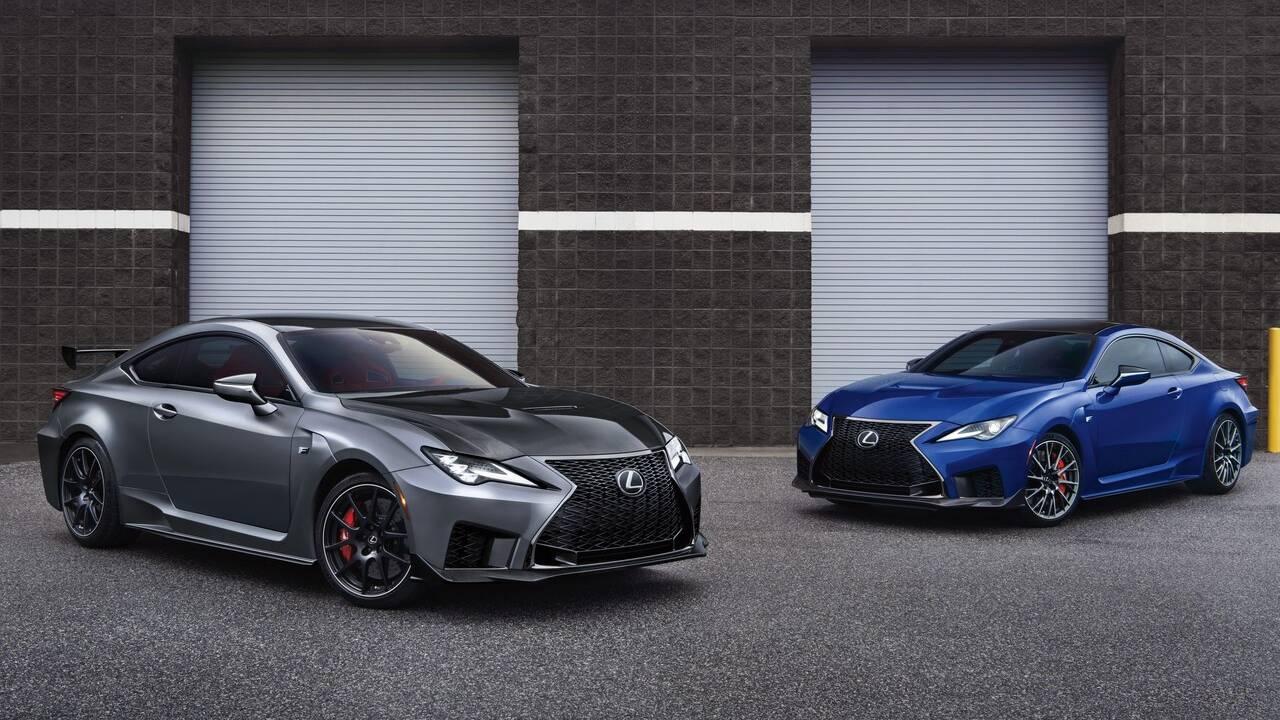 2021 Lexus RC F receives Fuji Speedway Edition trim