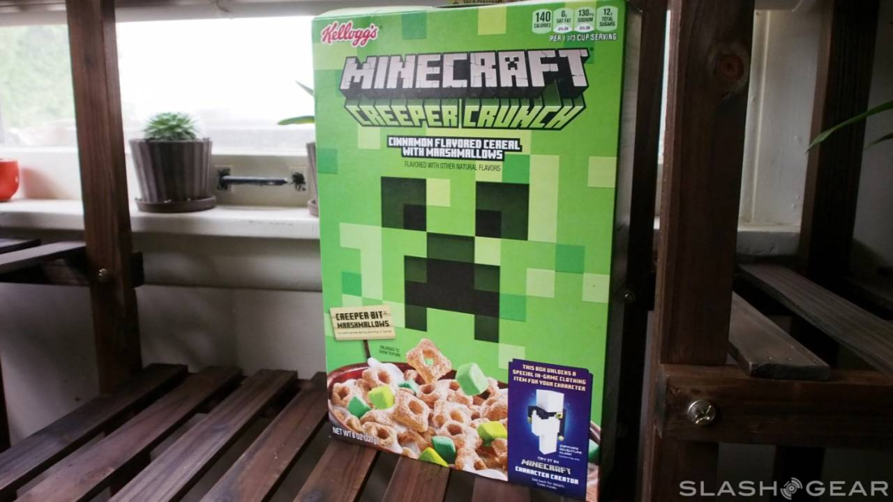 Minecraft Creeper Crunch Cereal review – Gaming for breakfast