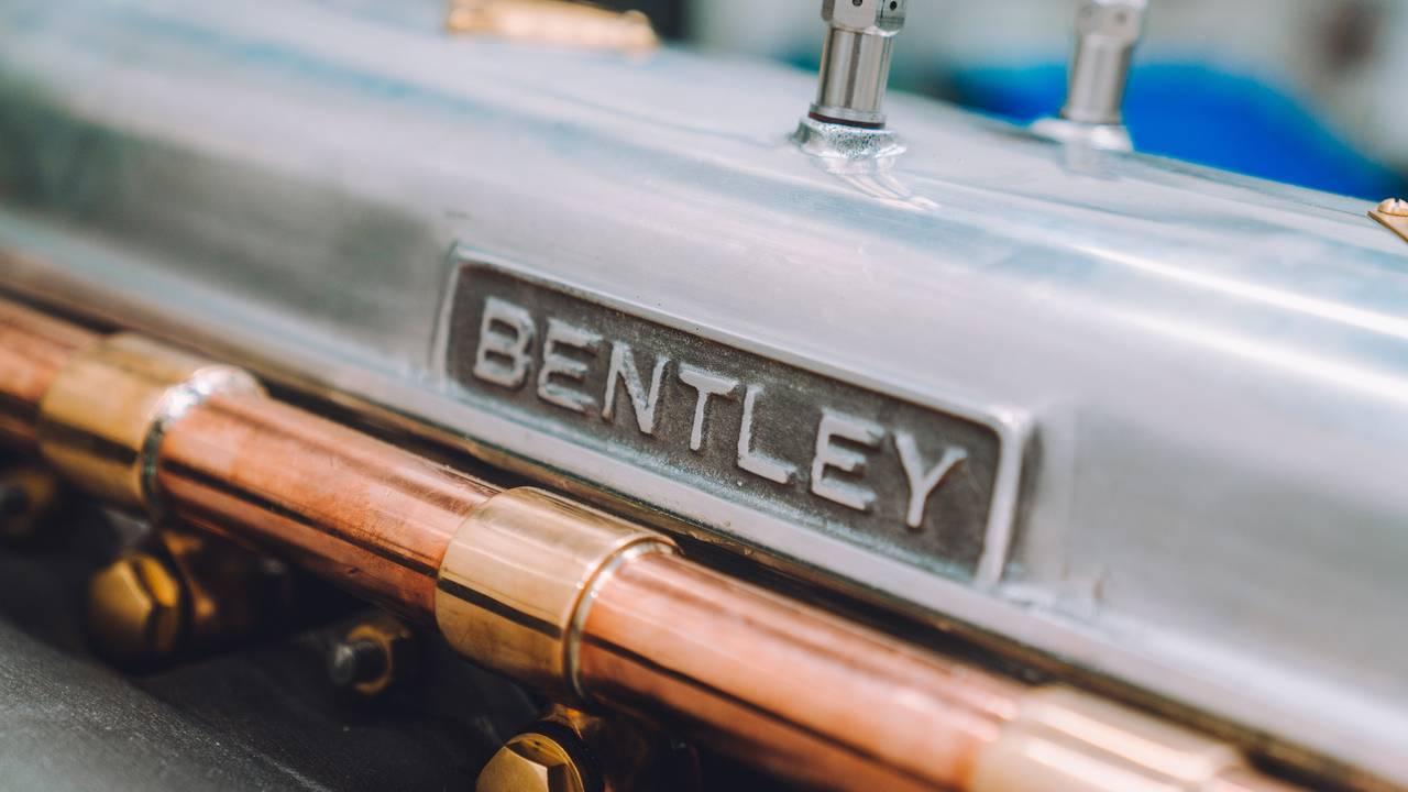 Bentley's new 4 ½-liter Blower engine is alive!