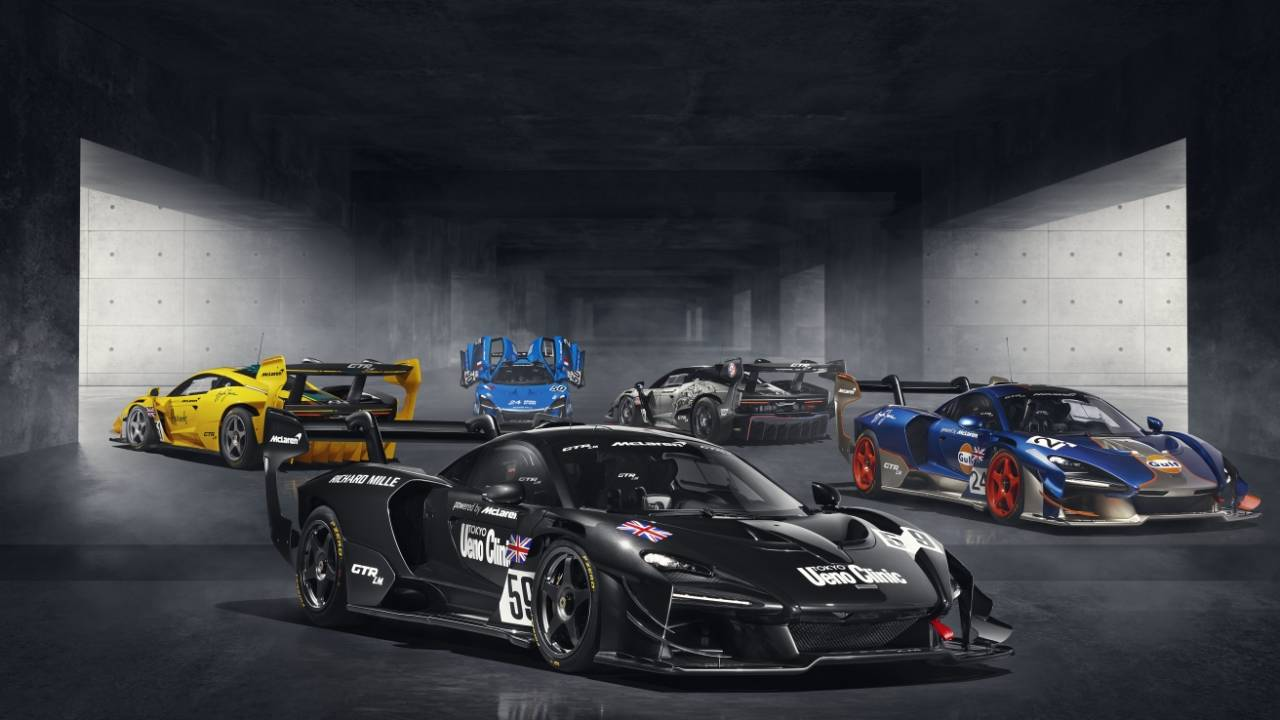 McLaren Senna GTR LM: Five tribute cars celebrate historic Le Mans victory in 1995