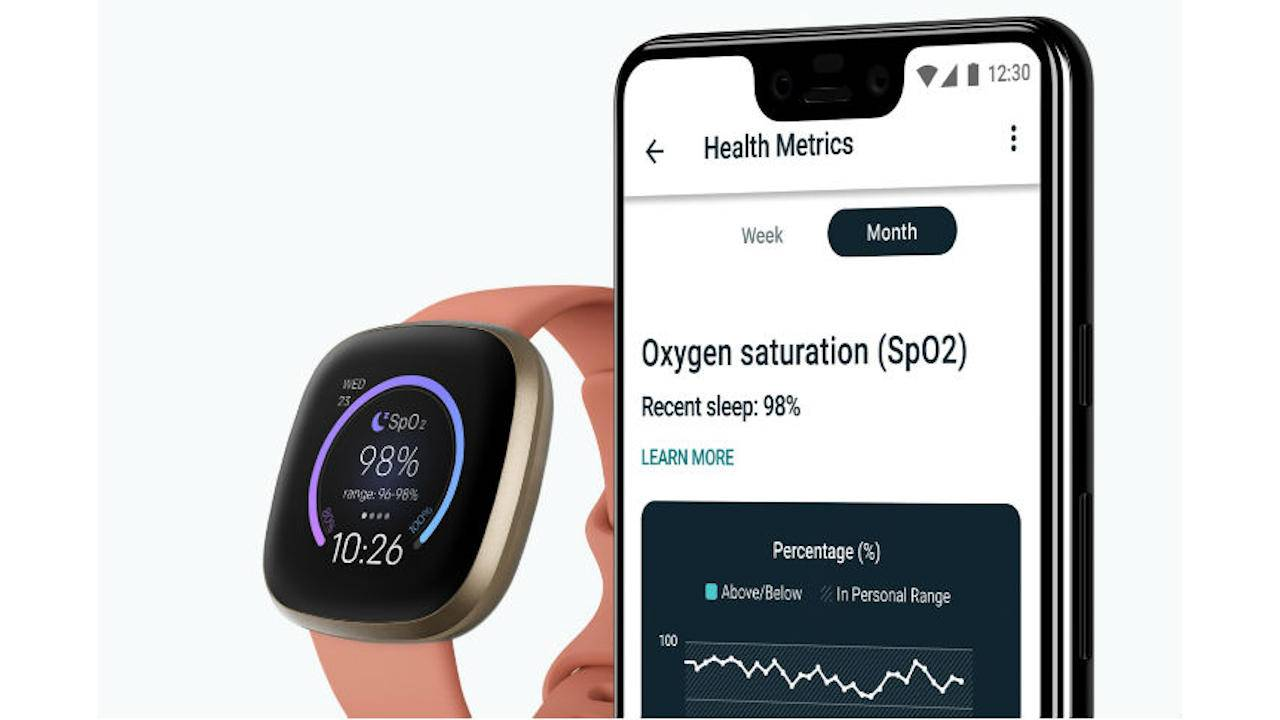 Fitbit SpO2 watch face makes it easier to track blood oxygenation
