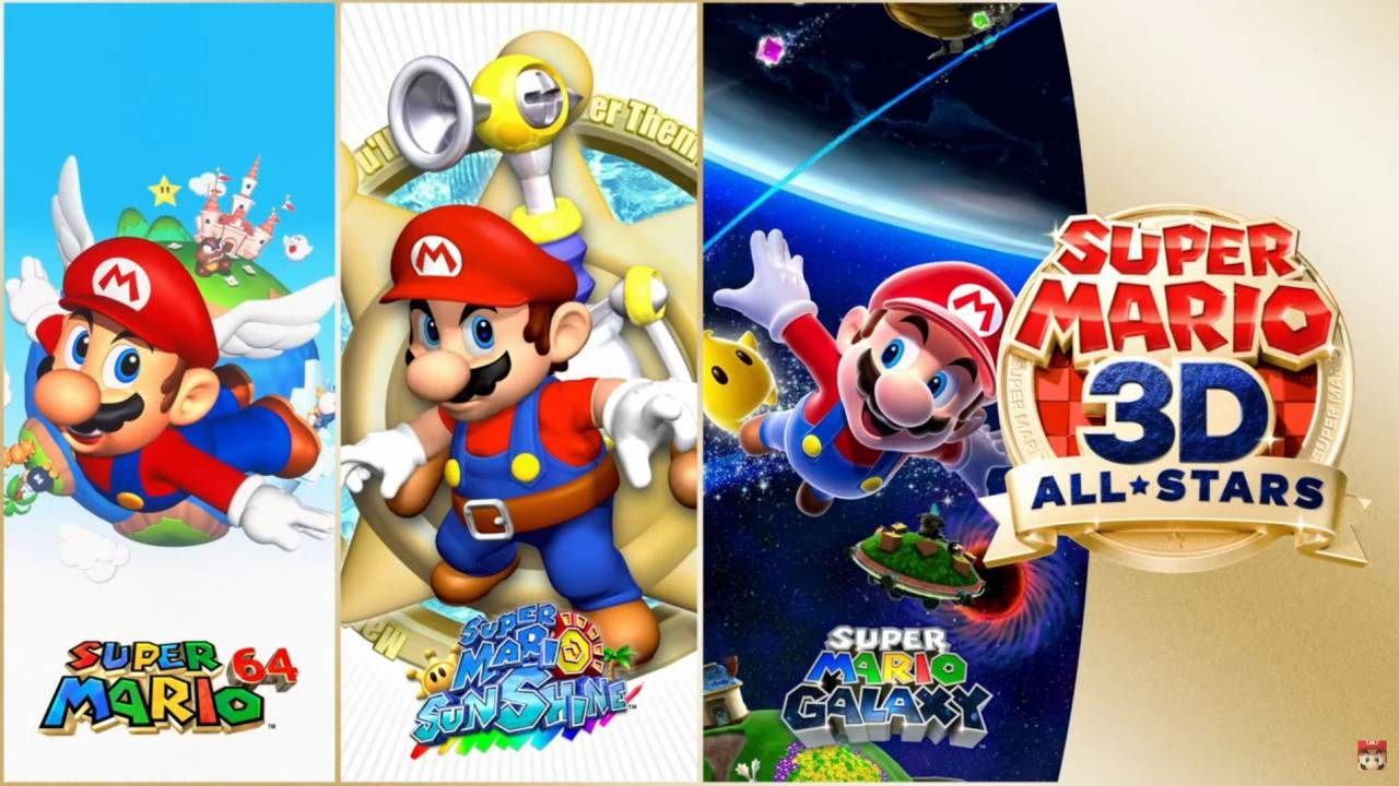 Super Mario 3D All-Stars brings three Mario classics to Switch: Release date and more