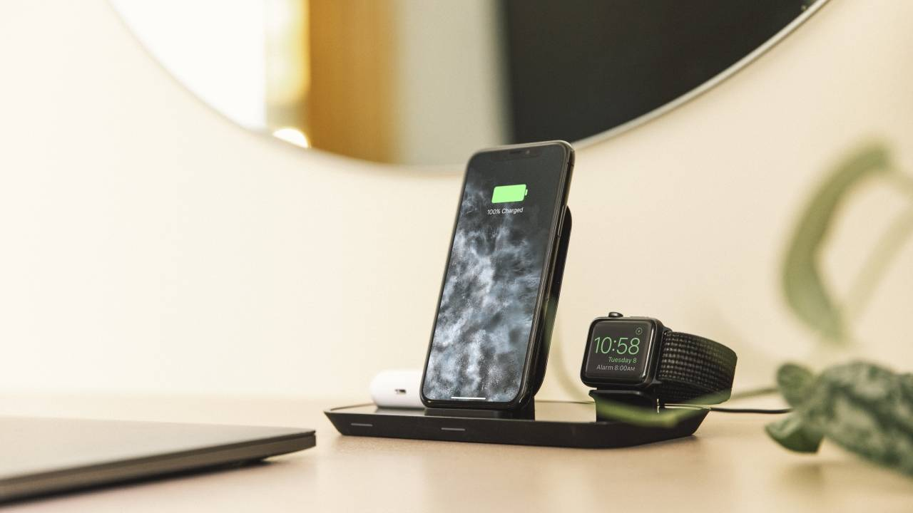 mophie wireless chargers cover iPhones, Apple Watches, AirPods simultaneously