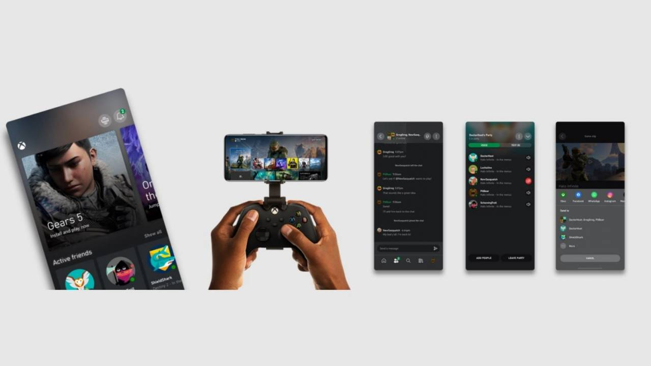 New Xbox app released ahead of Xbox Series X/S launch