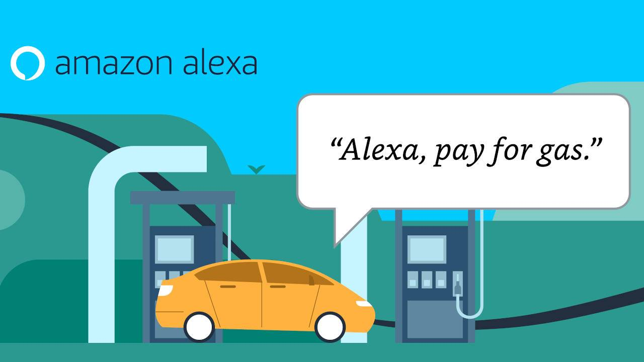 Amazon Alexa can now pay for gas at Exxon and Mobil