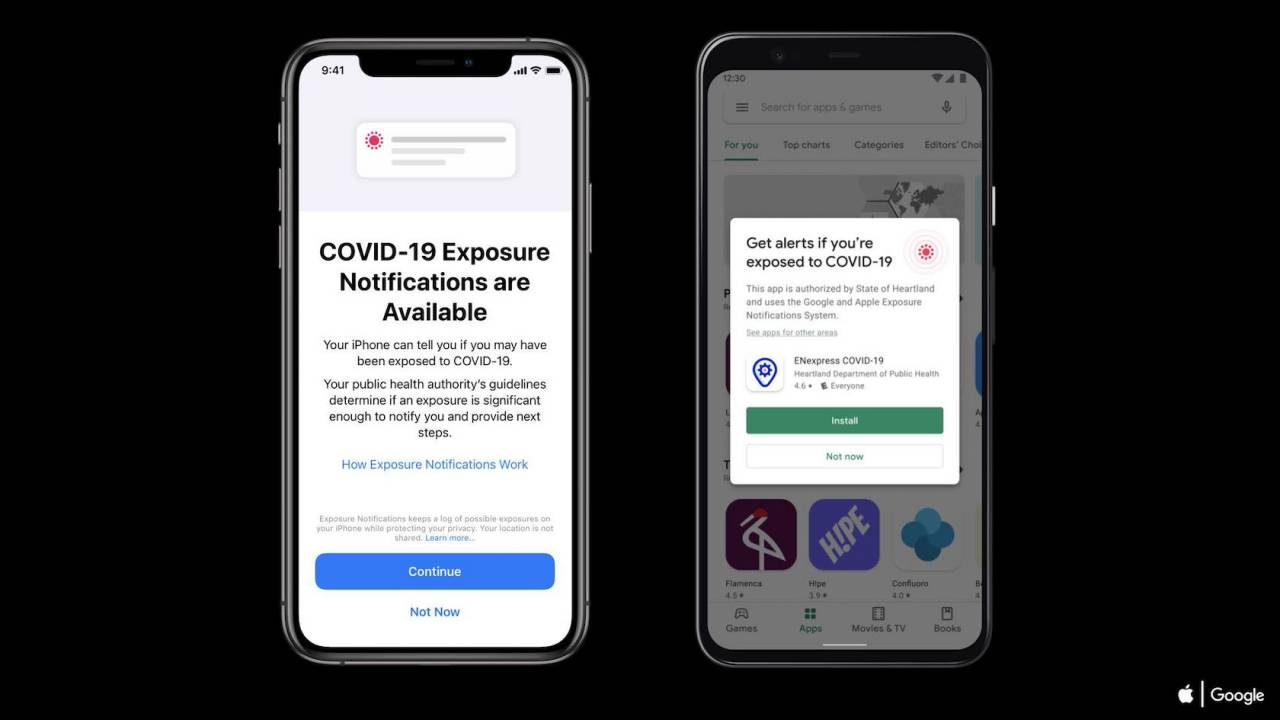 iOS 13.7 and Android bake in COVID-19 exposure notification to speed up tracing