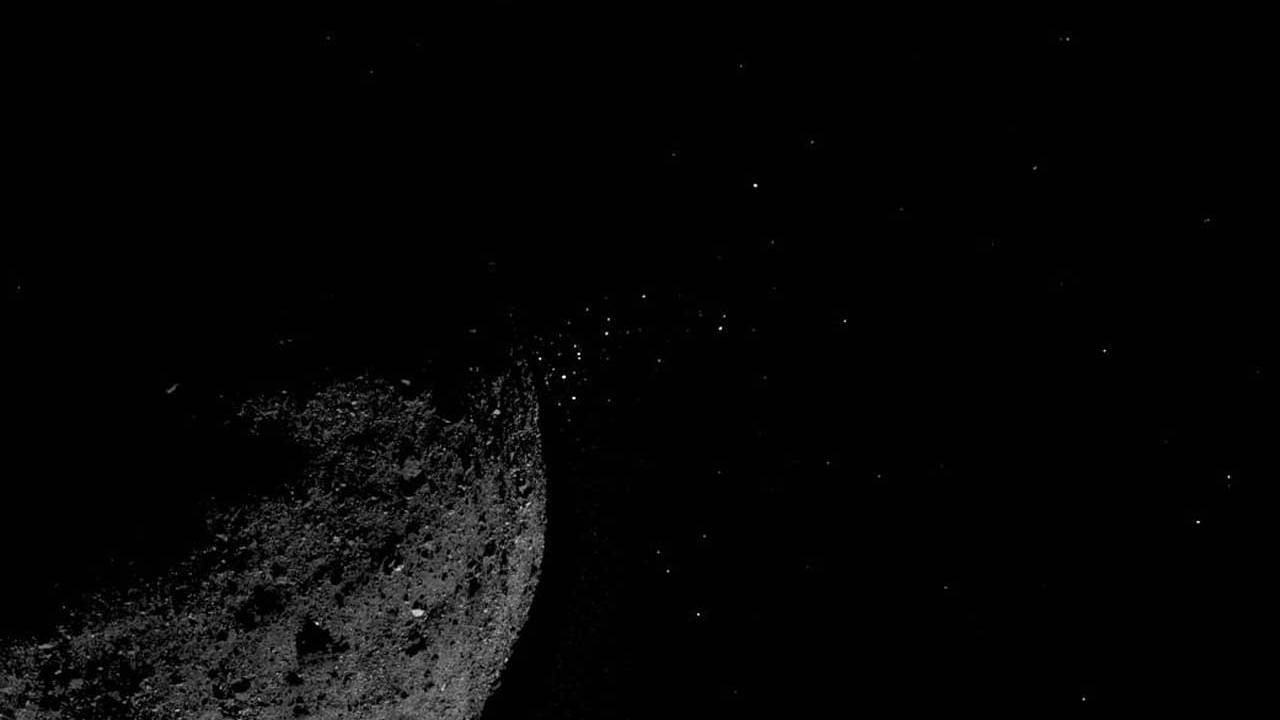 OSIRIS-REx observes asteroid Bennu particle ejection events up close