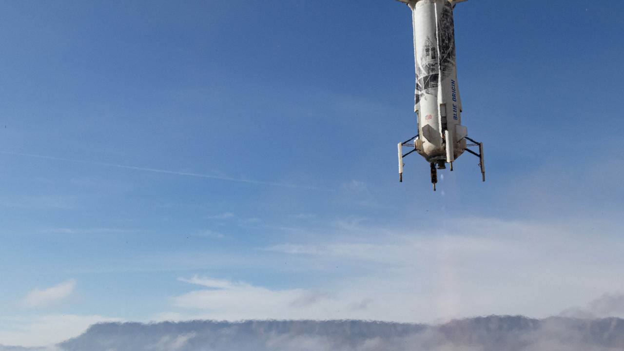 Blue Origin NS-13 launch scrubbed today