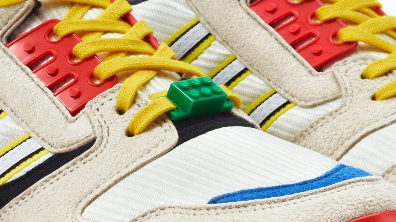 ADIDAS Originals ZX 8000 LEGO sneakers release date this week