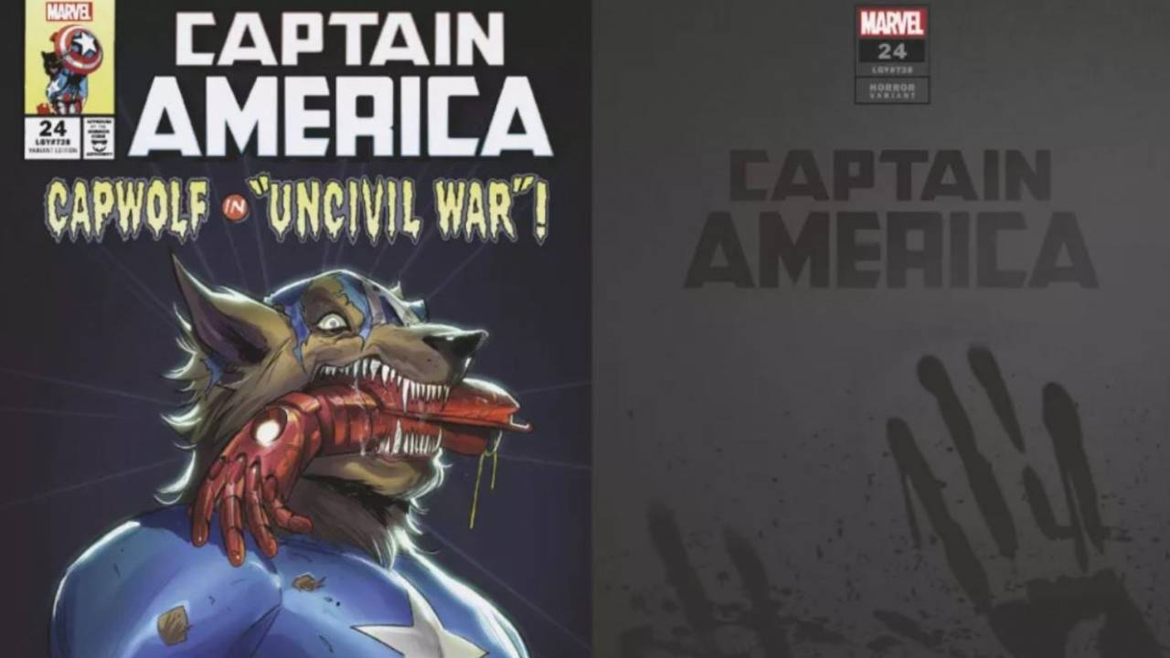 Marvel reveals horror-themed comic book cover variants for Halloween