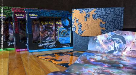 Pokemon Champions Path Elite Trainer box unboxing (and Pins too!)